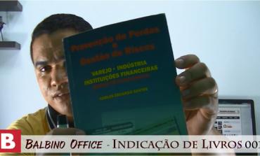 Balbino Office 004 - Indicação de Livro - Prof. Carlos Eduardo Santos